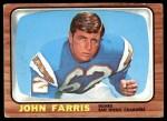 1966 Topps #122  John Farris  Front Thumbnail