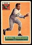 1956 Topps #100  Bob Thomason  Front Thumbnail
