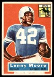 1956 Topps #60  Lenny Moore  Front Thumbnail