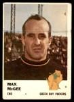 1961 Fleer #93  Max McGee  Front Thumbnail