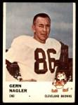 1961 Fleer #14  Gern Nagler  Front Thumbnail