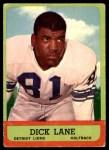 1963 Topps #32  Dick Lane  Front Thumbnail