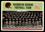 1965 Philadelphia #183   Redskins Team Front Thumbnail