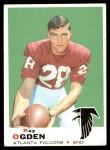 1969 Topps #206  Ray Ogden  Front Thumbnail