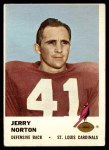 1961 Fleer #26  Jerry Norton  Front Thumbnail