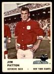 1961 Fleer #72  Jim Patton  Front Thumbnail