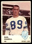 1961 Fleer #83  Gail Cogdill  Front Thumbnail
