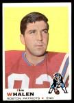1969 Topps #203  Jim Whalen  Front Thumbnail