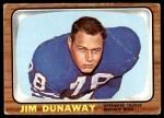 1966 Topps #24  Jim Dunaway  Front Thumbnail