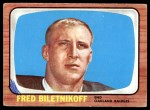 1966 Topps #104  Fred Bilentnikoff  Front Thumbnail