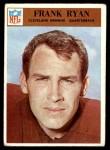 1966 Philadelphia #49  Frank Ryan  Front Thumbnail