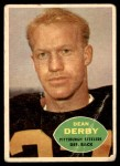 1960 Topps #99  Dean Derby  Front Thumbnail