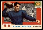 1955 Topps #86  Albie Booth  Front Thumbnail