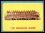 1963 Topps #48   Rams Team Front Thumbnail