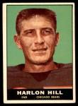 1961 Topps #13  Harlon Hill  Front Thumbnail