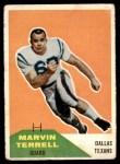 1960 Fleer #101  Marvin Terrell  Front Thumbnail