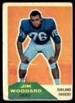 1960 Fleer #84  Jim Woodard  Front Thumbnail