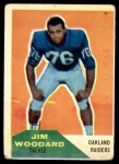 1960 Fleer #84  Jim Woodard  Front Thumbnail