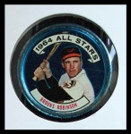 1964 Topps Coins #125   -   Brooks Robinson All-Star Front Thumbnail