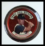 1964 Topps Coins #143   -   Bill Mazeroski All-Star Front Thumbnail