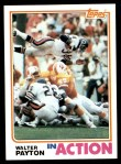 1982 Topps #303   -  Walter Payton In Action Front Thumbnail