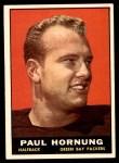 1961 Topps #40  Paul Hornung  Front Thumbnail