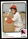 1973 Topps #135  Lee May  Front Thumbnail