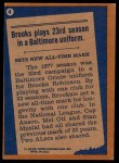 1978 Topps #4   -  Brooks Robinson Record Breaker Back Thumbnail
