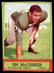 1963 Topps #116  Jim McCusker  Front Thumbnail