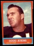1963 Topps #68  Doug Atkins  Front Thumbnail