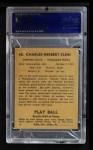 1941 Play Ball #60  Chuck Klein  Back Thumbnail