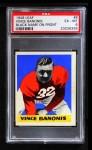 1948 Leaf #8 BN Vince Banonis  Front Thumbnail