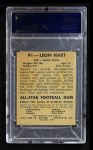 1948 Leaf #91  Leon Hart  Back Thumbnail