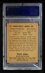 1941 Play Ball #47  Buddy Lewis  Back Thumbnail