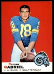 1969 Topps #125  Roman Gabriel  Front Thumbnail
