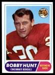 1968 Topps #122  Bobby Hunt  Front Thumbnail