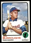 1973 Topps #489  Jeff Burroughs  Front Thumbnail