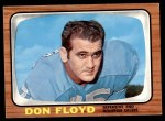 1966 Topps #54  Don Floyd  Front Thumbnail