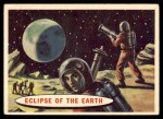 1957 Topps Space Cards #51   Eclipse of the Earth Front Thumbnail