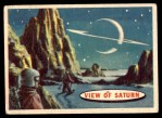 1957 Topps Space Cards #83   View of Saturn Front Thumbnail