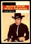 1958 Topps TV Westerns #30   Paladin Takes Aim  Front Thumbnail