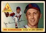 1955 Topps #37  Joe Cunningham  Front Thumbnail