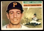 1956 Topps #232  Maurice Toby Atwell  Front Thumbnail