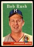 1958 Topps #313  Bob Rush  Front Thumbnail