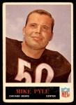1965 Philadelphia #24  Mike Pyle  Front Thumbnail