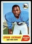 1968 Topps #83  Spider Lockhart  Front Thumbnail