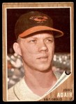 1962 Topps #449  Jerry Adair  Front Thumbnail