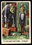 1959 Topps / Bubbles Inc You'll Die Laughing #51   If you want anything Front Thumbnail