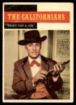1958 Topps TV Westerns #71   Ready for Job  Front Thumbnail