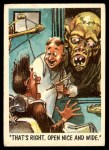 1959 Topps / Bubbles Inc You'll Die Laughing #22   That's right Front Thumbnail